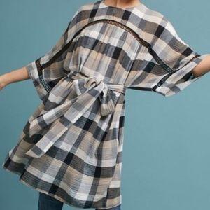NWT Maeve Anthropologie Kimono Tunic Dress M